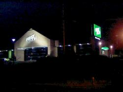 Night image of First Union Bank